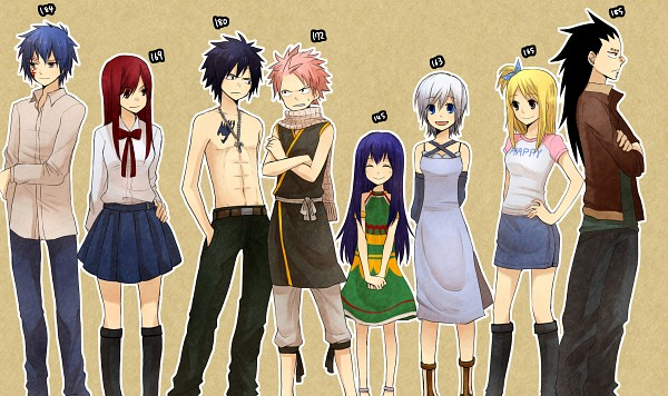 How tall is lucy heartfilia