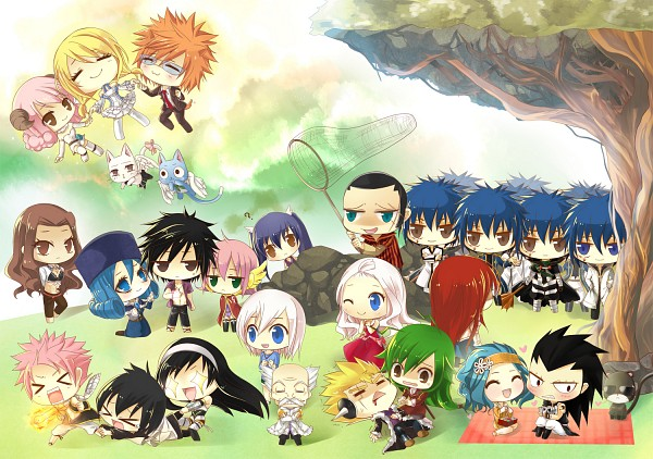 Tags: Anime, Achiba, FAIRY TAIL, Zeref Dragneel, Meldy, Loki (FAIRY TAIL), Makarov Dreyar, Mest Gryder, Mirajane Strauss, Lisanna Strauss, Erza Scarlet, Charle, Pantherlily