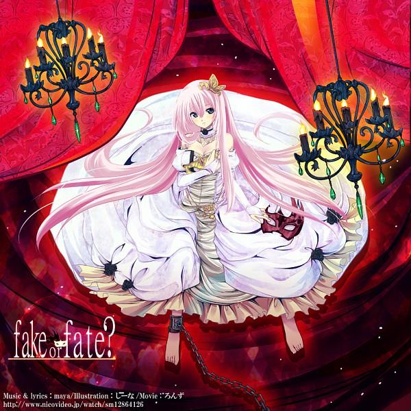 Tags: Anime, Child-box, VOCALOID, Megurine Luka, Shackles, Fake or Fate?, Pixiv