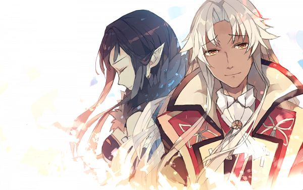 Tags: Anime, Hiyunagi, Fate/Apocrypha, Amakusa Shirou Tokisada, Kotomine Shirou (Fate/Apocrypha), Red Assassin, Fanart From Pixiv, Pixiv, Fanart