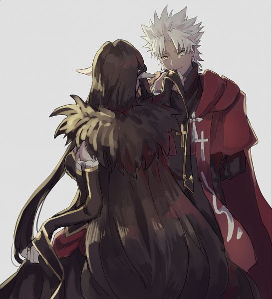Tags: Anime, Pixiv Id 7719025, Fate/Apocrypha, Red Assassin, Kotomine Shirou (Fate/Apocrypha), Fanart, Fanart From Pixiv, Pixiv