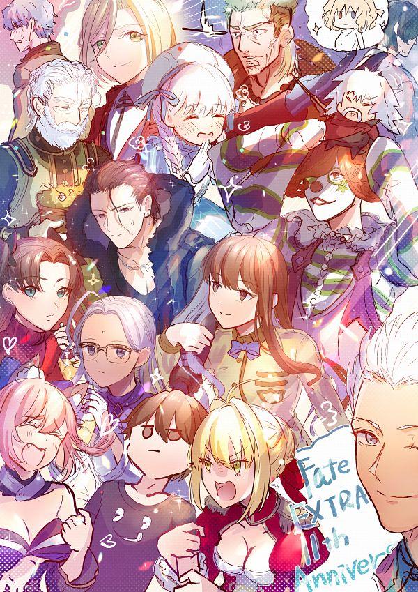 Tags: Anime, Pixiv Id 16150468, Fate/EXTRA, Julius B. Harway, Archer (Fate/stay night), Kishinami Hakuno, Gatou Monji, Twice H. Pieceman, Female Protagonist (Fate/EXTRA), Berserker (Arcueid Brunestud), Saber (Fate/EXTRA), Dan Blackmore, Alice (Fate/EXTRA)