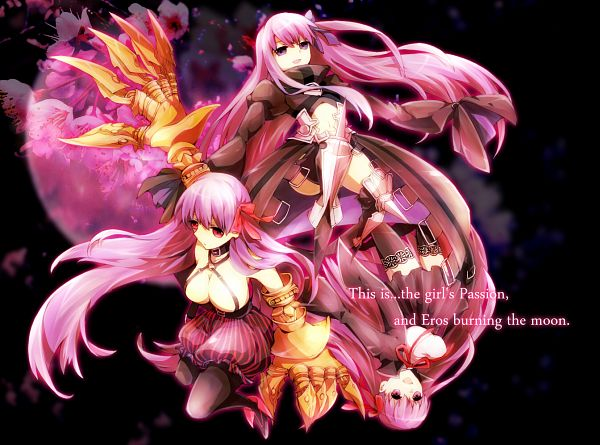 Tags: Anime, Tamaki (Glass Bottle), Fate/EXTRA CCC, Fate/EXTRA, Meltlillith, BB (Fate/EXTRA), Passionlip, Fanart