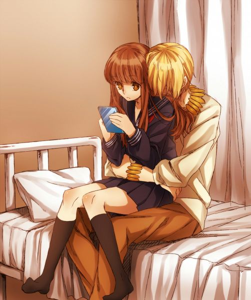 Tags: Anime, Pixiv Id 1095951, Fate/EXTRA, Fate/EXTRA CCC, Gilgamesh, Female Protagonist (Fate/EXTRA), Longing, Hospital, Fanart