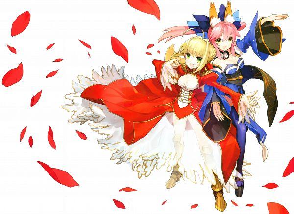 Fate/EXTRA Visual Fanbook - Fate/EXTRA