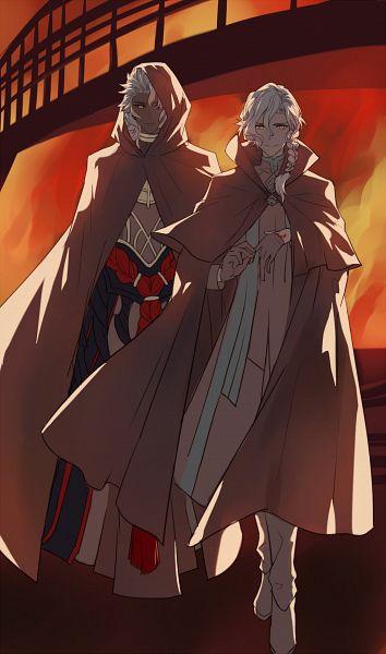 Tags: Anime, Pixiv Id 3446506, Fate/Grand Order: Episode 0 Initium Iter, Fate/Grand Order, Marisbury Animusphere, Caster (Solomon), Fanart From Pixiv, Pixiv, Fanart