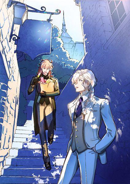 Tags: Anime, Pixiv Id 334523, Fate/Grand Order: Episode 0 Initium Iter, Fate/Grand Order, Marisbury Animusphere, Romani Akiman, Fanart From Pixiv, Pixiv, Fanart