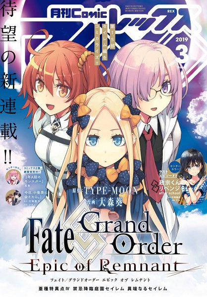 Fate/Grand Order -Epic of Remnant- Ashu Tokuiten IV