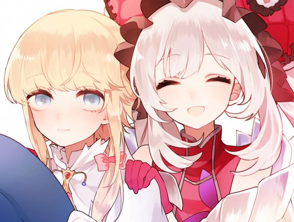 Tags: Anime, Pixiv Id 4758050, Fate/Grand Order, Saber (Chevalier d'Eon), Rider (Marie Antoinette)