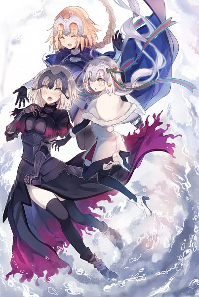 Tags: Anime, Tare (Usesase), Fate/Grand Order, Joan Alter Santa Lily, Joan of Arc (Fate/Apocrypha), Joan Alter, Mobile Wallpaper, PNG Conversion, FGO Iracon