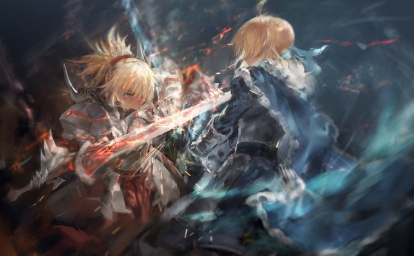 Tags: Anime, Azomo, Fate/Grand Order, Saber (Fate/stay night), Red Saber, Clarent, Pixiv, Wallpaper, Fanart, Fanart From Pixiv, HD Wallpaper