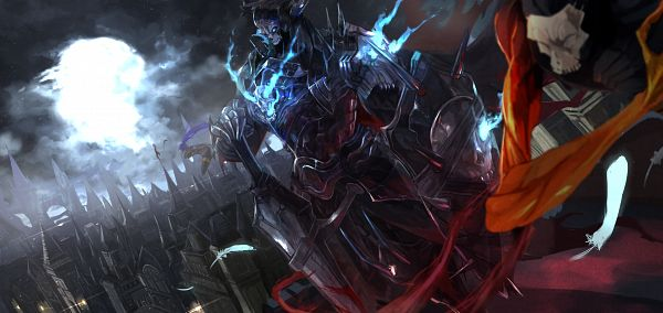 Tags: Anime, Pixiv Id 1781787, Fate/Grand Order, Assassin (King Hassan), Assassin (Fate/zero), True Assassin, Assassin (Fate/Prototype: Sougin no Fragments), Aura, Azrael (Sword), Pixiv, Facebook Cover, Fanart From Pixiv, Fanart