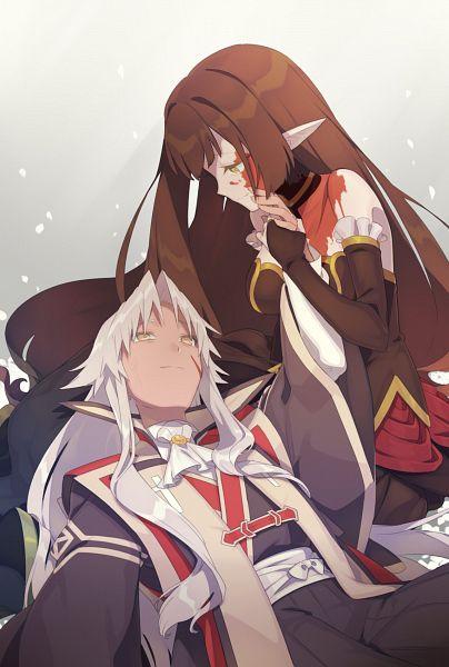 Tags: Anime, Pixiv Id 24655479, Fate/Grand Order, Kotomine Shirou (Fate/Apocrypha), Red Assassin, Amakusa Shirou Tokisada, Scratch, Bridal Gauntlets, Fanart, Twitter