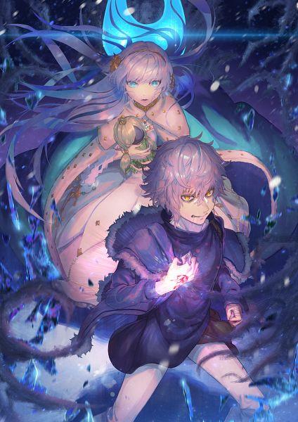 Tags: Anime, Pixiv Id 4355382, Fate/Grand Order, Caster (Anastasia Nikolaevna Romanova), Kadoc Zemlupus