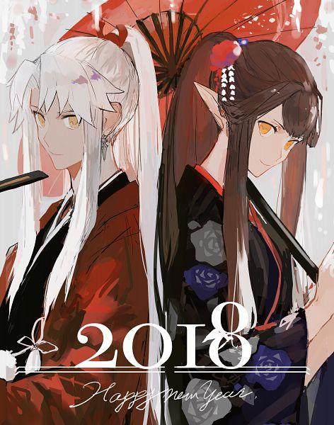 Tags: Anime, Pixiv Id 2700623, Fate/Grand Order, Amakusa Shirou Tokisada, Kotomine Shirou (Fate/Apocrypha), Red Assassin, Fanart From Pixiv, Pixiv, Fanart, Happy 2018