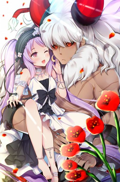 Tags: Anime, Pixiv Id 1300663, Fate/Grand Order, Berserker (Asterios), Euryale (Fate/hollow ataraxia), Fanart From Pixiv, Pixiv, Revision, Fanart, FGO Iracon 2