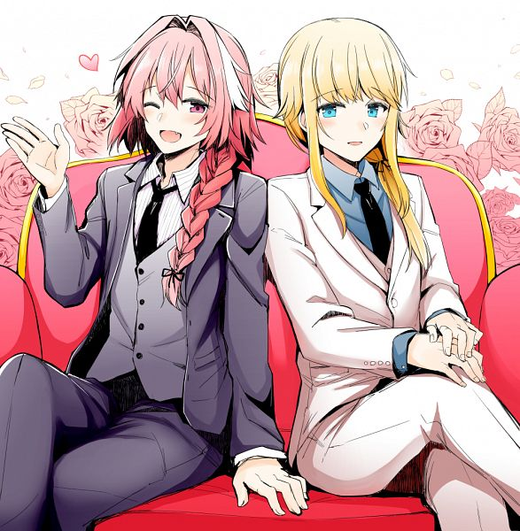 Tags: Anime, Pixiv Id 860908, Fate/Grand Order, Black Rider, Saber (Chevalier d'Eon), Fanart, Fanart From Pixiv, Pixiv