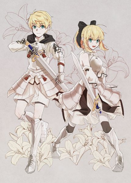 Tags: Anime, Pixiv Id 28089548, Fate/Grand Order, Saber (Fate/stay night), Saber (Fate/Prototype), Saber Lily, Saber Lily (Cosplay), Caliburn