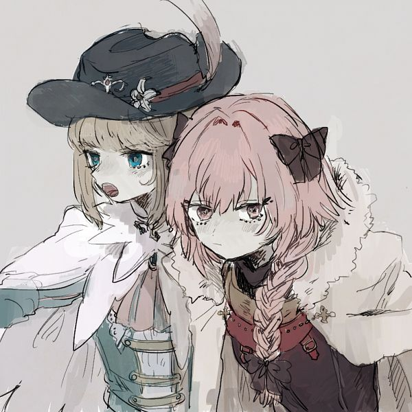 Tags: Anime, Pixiv Id 12864185, Fate/Grand Order, Saber (Chevalier d'Eon), Black Rider, Pixiv, Fanart, Fanart From Pixiv