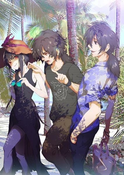 Tags: Anime, Pixiv Id 4355382, Fate/Grand Order, Oryuu (Koha-Ace), Rider (Koha-Ace), Assassin (Koha-Ace), Fanart From Pixiv, Pixiv, Fanart