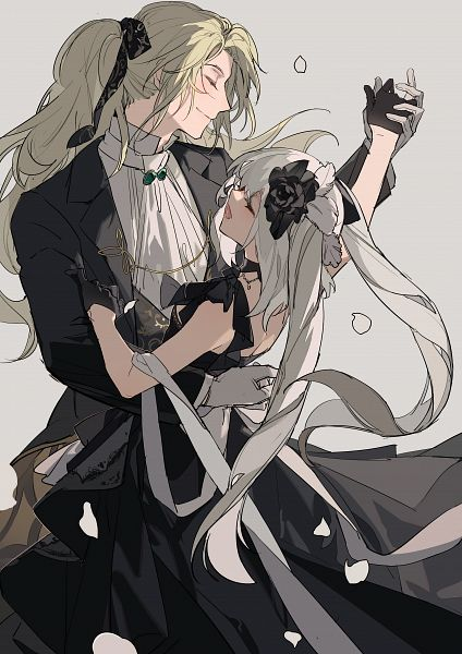 Tags: Anime, Pixiv Id 13695413, Fate/Grand Order, Caster (Wolfgang Amadeus Mozart), Rider (Marie Antoinette), Pixiv, Fanart, Fate/Grand Order Orchestra, Fanart From Pixiv