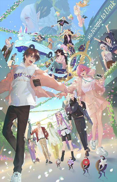 Tags: Anime, Pixiv Id 36116649, Fate/Grand Order, Lancer (Jaguar Man), Rider (Fate/Grand Order), Assassin (Fuuma Kotarou), Lancer (Fate/strange fake), Romani Akiman, Rider (Quetzalcoatl), Rider (Fate/stay night), Shielder (Fate/Grand Order), Berserker (Ibaraki-douji), Archer Inferno