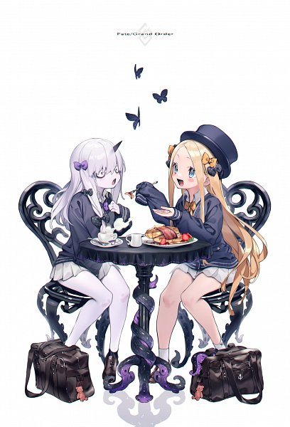 Tags: Anime, Pixiv Id 4952461, Fate/Grand Order, Lavinia Whateley, Foreigner (Abigail Williams)