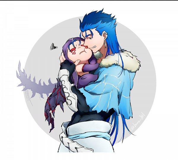 Tags: Anime, Pixiv Id 16299425, Fate/Grand Order, Mini Cu-chan, Berserker (Cú Chulainn Alter), Lancer (Fate/stay night), Caster (Cú Chulainn), Pixiv, Fanart, Fanart From Pixiv