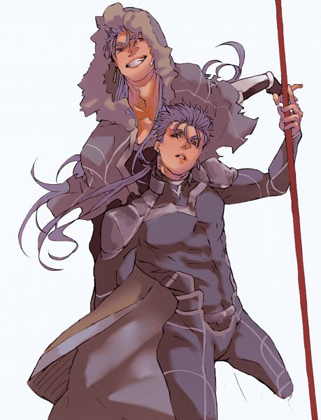 Tags: Anime, Pixiv Id 26592273, Fate/Grand Order, Fate/stay night, Lancer (Fate/stay night), Caster (Cú Chulainn), Pixiv, Fanart, Fanart From Pixiv