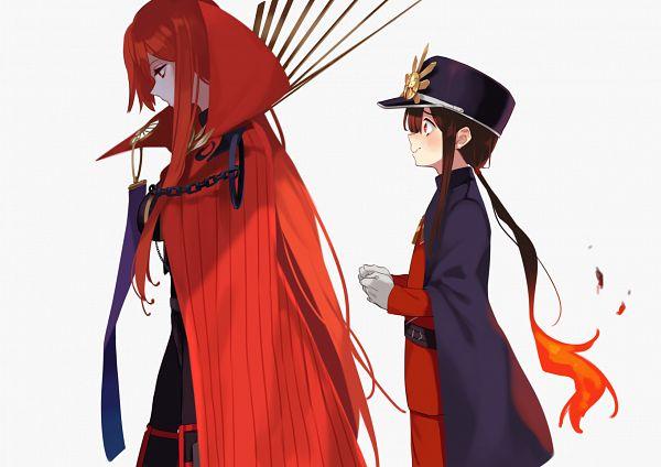 Tags: Anime, Uncle Ri Kodama, Fate/Grand Order, Majin Archer, Avenger (Maou Nobunaga), Oda Nobukatsu (Fate/Grand Order), Fanart, Fanart From Pixiv, Pixiv