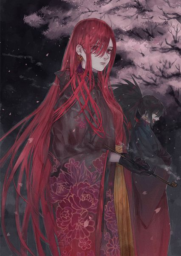 Tags: Anime, Pixiv Id 6124030, Fate/Grand Order, Avenger (Oda Kippoushi), Avenger (Maou Nobunaga), Majin Archer, Fanart From Pixiv, Pixiv, Fanart