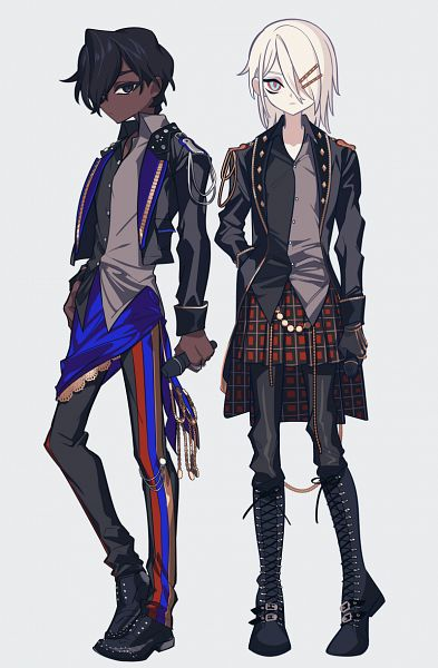 Tags: Anime, Pixiv Id 3837405, Fate/Grand Order, Archer (Fate/Grand Order), Red Lancer, Pixiv, Fanart, Fanart From Pixiv