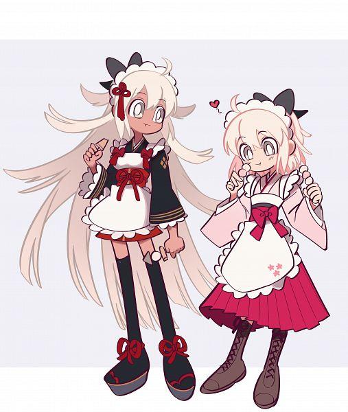 Tags: Anime, Pixiv Id 3837405, Fate/Grand Order, Majin Saber, Sakura Saber, Fanart From Pixiv, Pixiv, Fanart