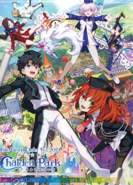 Fate/Grand Order Fes2019 4th Anniversary ALBUM - Chaldea Park