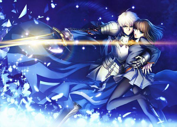 Tags: Anime, Hiroe Rei, TYPE-MOON, Fate/Prototype, Fate/Prototype Tribute Phantasm, Sajyou Ayaka, Saber (Fate/Prototype), Excalibur Proto, Scan