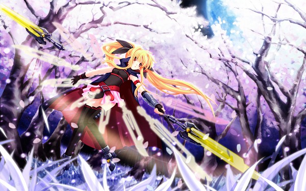 Tags: Anime, Mahou Shoujo Lyrical Nanoha, Fate Testarossa, HD Wallpaper, Wallpaper