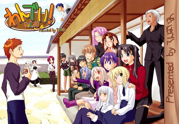 Tags: Anime, Fue, TYPE-MOON, Fate/hollow ataraxia, Fujimura Taiga, Saegusa Yukika, Archer (Fate/stay night), Sella, Illyasviel von Einzbern, Makidera Kaede, Caster (Fate/stay night), Bazett Fraga McRemitz, Lancer (Fate/stay night)