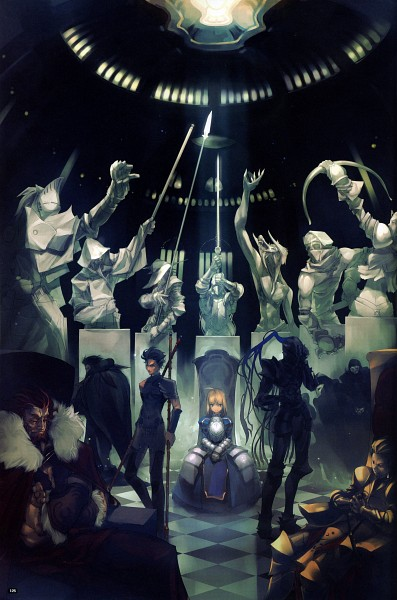 Fate/side side materiale 4 - Fate/stay night