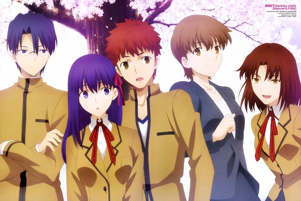 Tags: Anime, Yamamoto Chie (Artist), ufotable, Fate/stay night : Heaven's Feel - I Presage Flower, Fate/stay night : Heaven's Feel, Fate/stay night, Mitsuzuri Ayako, Matou Sakura, Fujimura Taiga, Ryuudou Issei, Emiya Shirou, Magazine (Source), Official Art, Fate/stay Night Movie: Heaven's Feel - I. Presage Flower