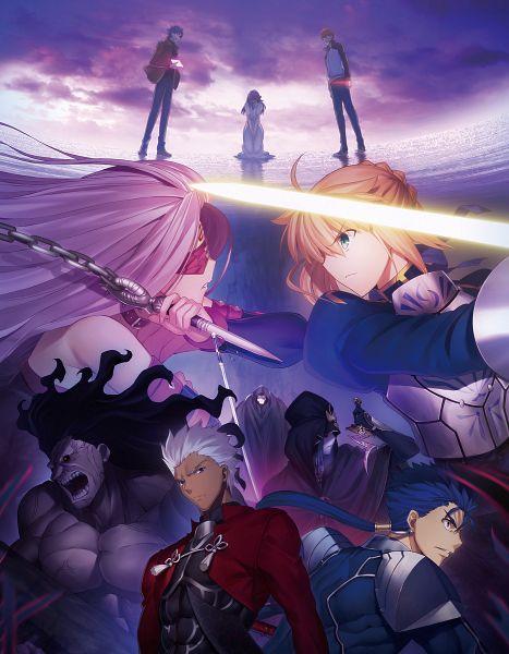 Tags: Anime, ufotable, Fate/stay night : Heaven's Feel - I Presage Flower, Fate/stay night : Heaven's Feel, Fate/stay night, Berserker (Fate/stay night), Caster (Fate/stay night), Lancer (Fate/stay night), Saber (Fate/stay night), Emiya Shirou, Rider (Fate/stay night), Matou Shinji, Matou Sakura, Fate/stay Night Movie: Heaven's Feel - I. Presage Flower