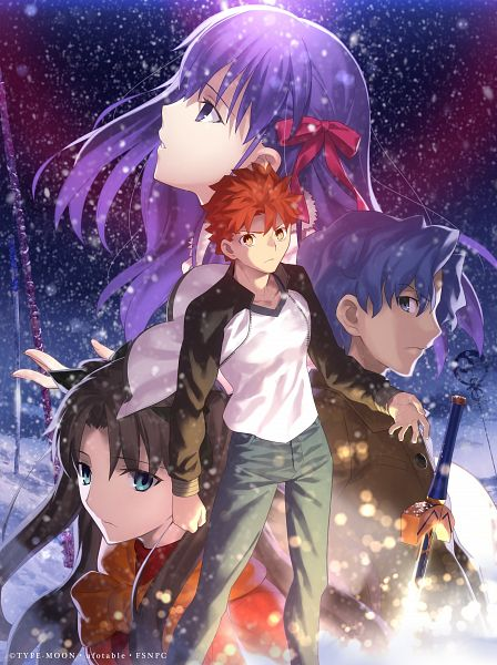 Tags: Anime, Takeuchi Takashi, ufotable, Fate/stay night : Heaven's Feel - I Presage Flower, Fate/stay night : Heaven's Feel, Fate/stay night, Tohsaka Rin, Matou Sakura, Matou Shinji, Emiya Shirou, Official Art, Fate/stay Night Movie: Heaven's Feel - I. Presage Flower