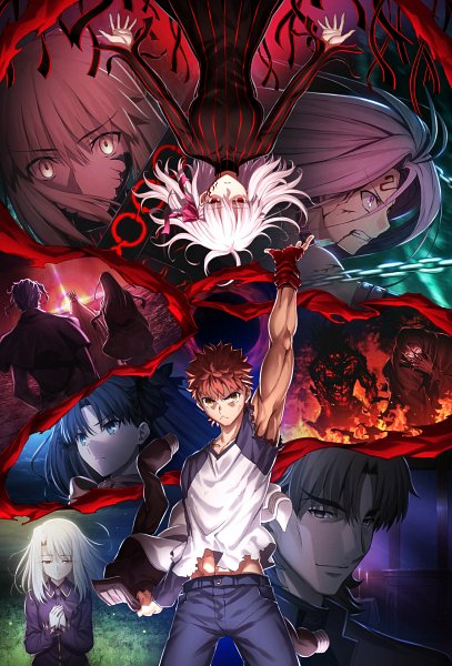 Tags: Anime, Sudou Tomonori, ufotable, Fate/stay night : Heaven's Feel - III Spring Song, Fate/stay night : Heaven's Feel, Fate/stay night, Saber (Fate/stay night), True Assassin, Illyasviel von Einzbern, Tohsaka Rin, Rider (Fate/stay night), Kotomine Kirei, Berserker (Fate/stay night)