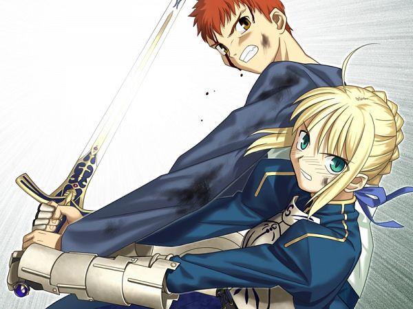 Tags: Anime, Takeuchi Takashi, TYPE-MOON, Fate/stay night, Emiya Shirou, Saber (Fate/stay night), CG Art
