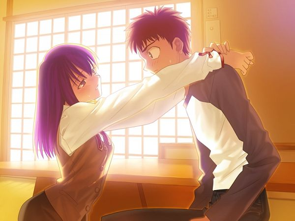 Tags: Anime, Takeuchi Takashi, TYPE-MOON, Fate/stay night, Emiya Shirou, Matou Sakura, CG Art