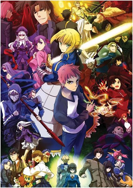 Tags: Anime, Nichika (Pixiv 1159894), TYPE-MOON, Fate/zero, Fate/Prototype, Fate/hollow ataraxia, Fate/stay night, Caren Hortensia, Kotomine Kirei, Kishinami Hakuno, Matou Sakura, Caster (Fate/EXTRA), Rider (Fate/stay night)