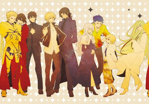Tags: Anime, ryugo, TYPE-MOON, Fate/strange fake, Fate/zero, Fate/hollow ataraxia, Fate/stay night, Gilgamesh, Ko-gil, Ortensia Caren, Lancer (Fate/strange fake), Kotomine Kirei, Tohsaka Tokiomi