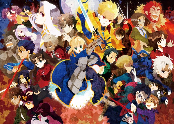 Tags: Anime, Kuroihato, Fate/zero, Fate/stay night, Lancer (Fate/stay night), Matou Kariya, Kayneth Archibald El-Melloi, Rider (Fate/stay night), Emiya Kiritsugu, Lancer (Fate/zero), Matou Sakura, Waver Velvet, Caster (Fate/zero)