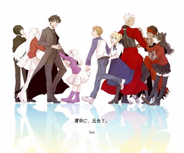 Tags: Anime, Pixiv Id 2083540, TYPE-MOON, Fate/zero, Fate/hollow ataraxia, Fate/stay night, Tohsaka Rin, Emiya Kiritsugu, Saber (Fate/stay night), Hisau Maiya, Illyasviel von Einzbern, Avenger (Fate/hollow ataraxia), Emiya Shirou