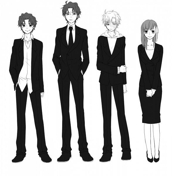 Tags: Anime, kohetake, TYPE-MOON, Fate/zero, Matou Shinji, Matou Kariya, Matou Byakuya, Matou Sakura, Niece, Uncle
