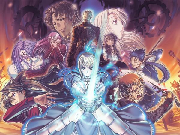 Tags: Anime, Hiroe Rei, TYPE-MOON, Fate/stay night, Archer (Fate/stay night), Tohsaka Rin, Illyasviel von Einzbern, Kotomine Kirei, Lancer (Fate/stay night), Dark Sakura, Emiya Shirou, Saber (Fate/stay night), Gilgamesh
